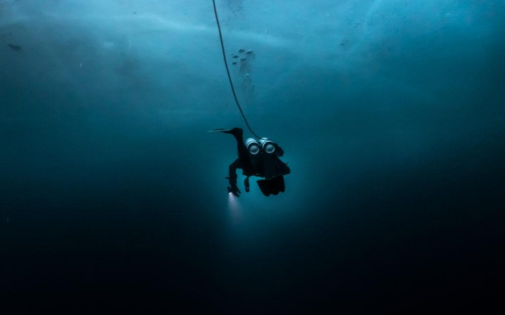 Glacialis plongée sous glace Odysseus 3.1