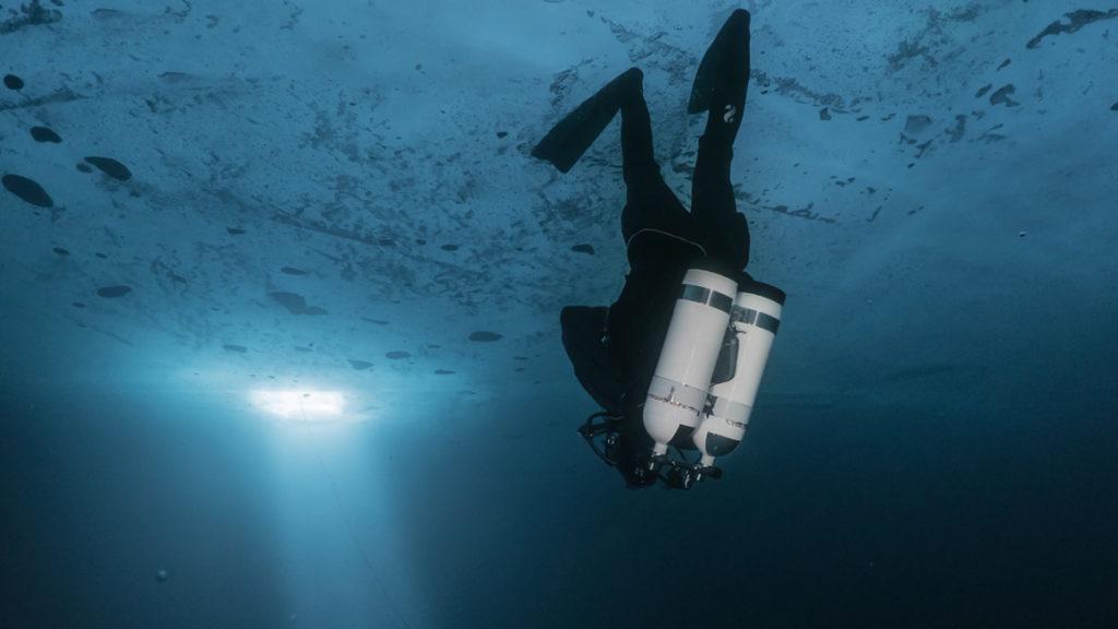 plongée sous glace odysseus 3.1