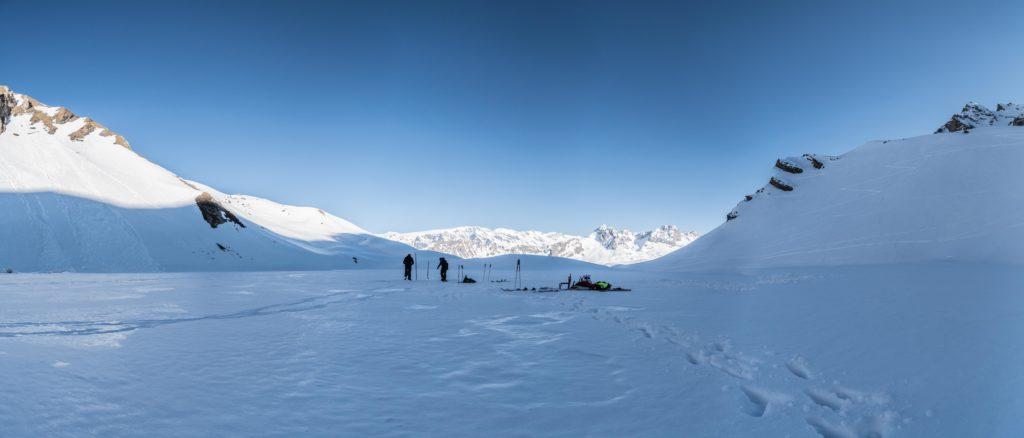 Glacialis Lac Merlet panorama