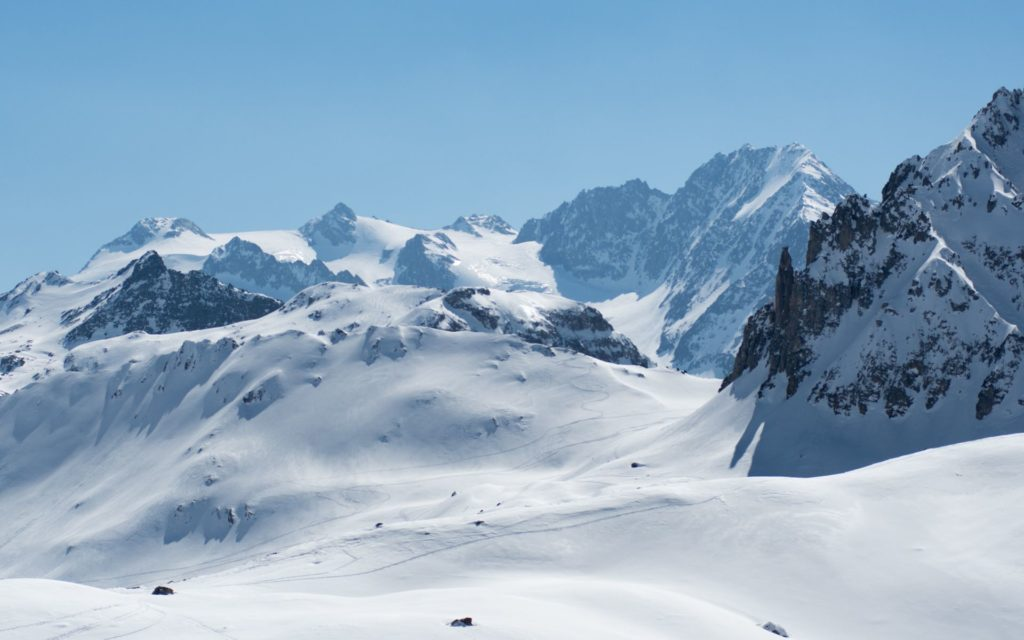 Glacialis montagnes