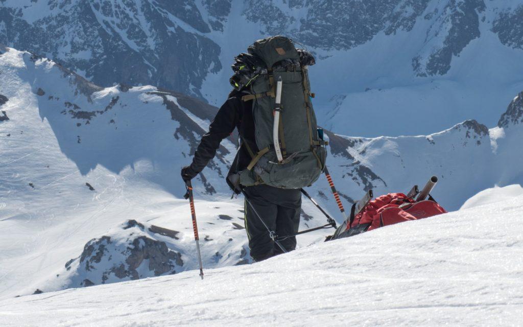 Glacialis expédition pulka