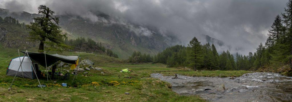 Camp de base Glacialis Sassolo