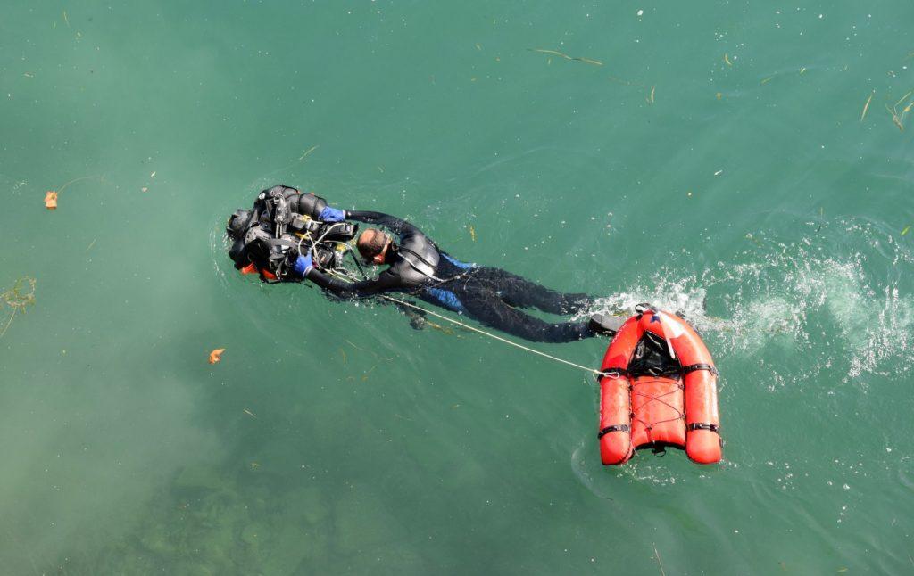 Pêche à l'aimant plongeur Odysseus 3.1