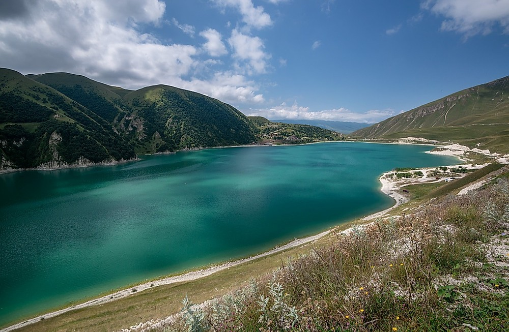 lacs d'altitude Tchétchénie