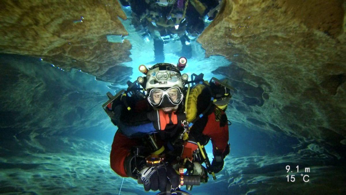 Xavier Meniscus plongée souterraine