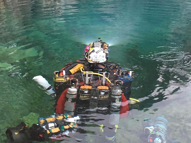 Plongée souterraine record du monde